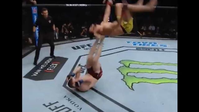 Lutador tentou humilhar rival no UFC e acabou ridicularizado