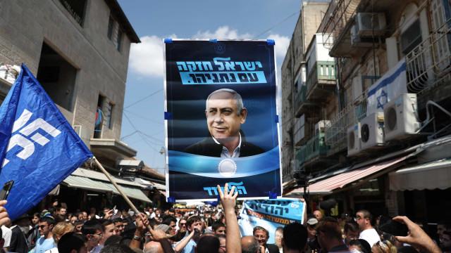 Netanyahu enfrenta novo teste à sobrevivência política nas legislativas