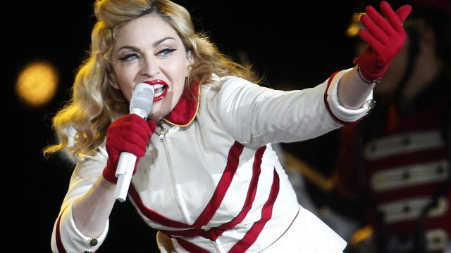 """Madonna começa hoje digressão de concertos """"raros e intimistas"""""""