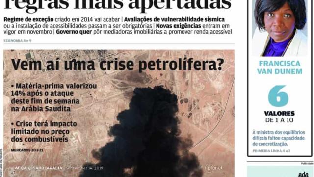 Hoje é notícia: Vem aí uma crise petrolífera? Novas ambulâncias paradas