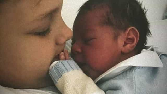As primeiras imagens do filho de Neymar com o irmão