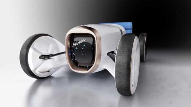 Novo 'concept' da Mercedes vai levá-lo numa viagem ao passado