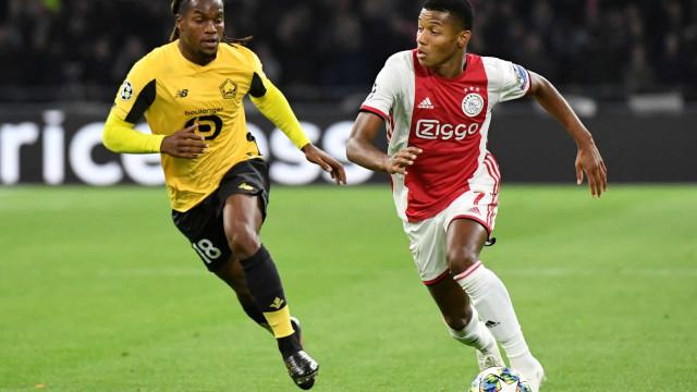 """Imprensa francesa destaca """"naufrágio de Renato Sanches"""" diante do Ajax"""