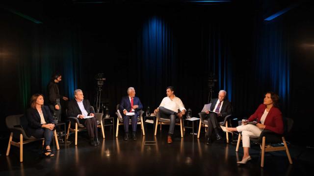 O 1.º debate a seis: Partidos medem forças ao microfone