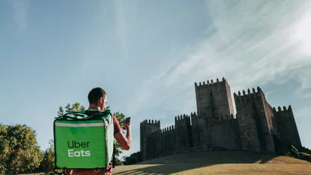 Guimarães já conta com cobertura da Uber Eats