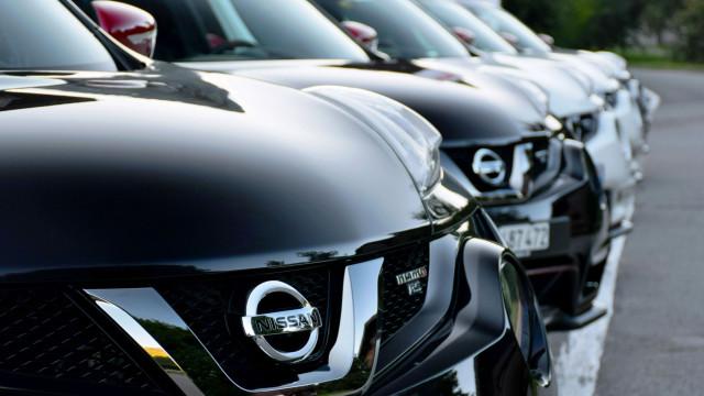Vendas de automóveis na UE recuam em agosto. Nissan lidera 'perdas'