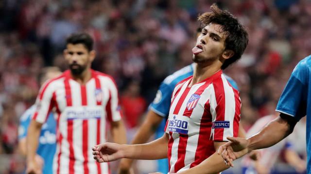[0-0] Rola a bola na segunda parte do Atlético-Juventus