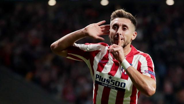 Nem CR7, nem JF7. Herrera foi 'rei' no empate entre Juve e Atlético