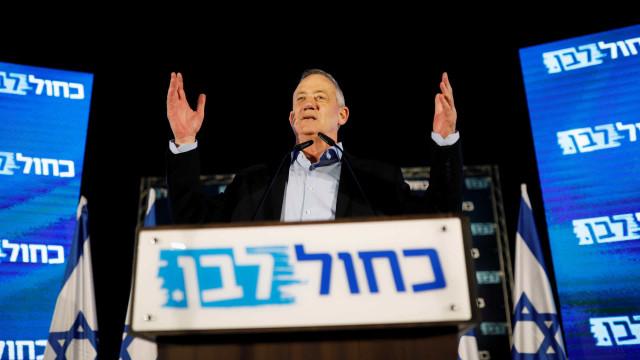 Benny Gantz quer ser primeiro-ministro de um governo de união em Israel