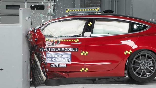 Tesla Model 3 conquistou nova distinção de segurança