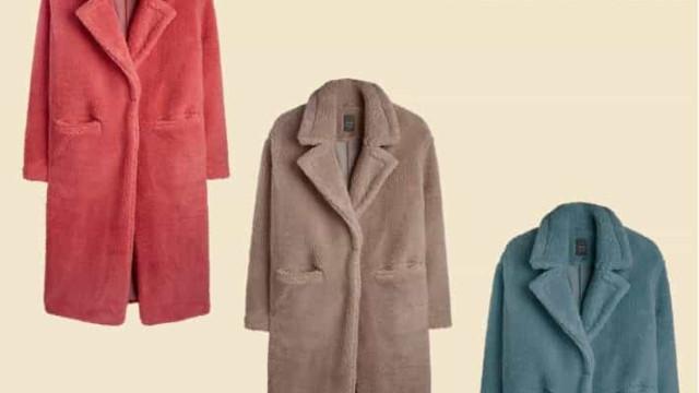 Os novos casacos teddy da Primark prometem aquecer este inverno