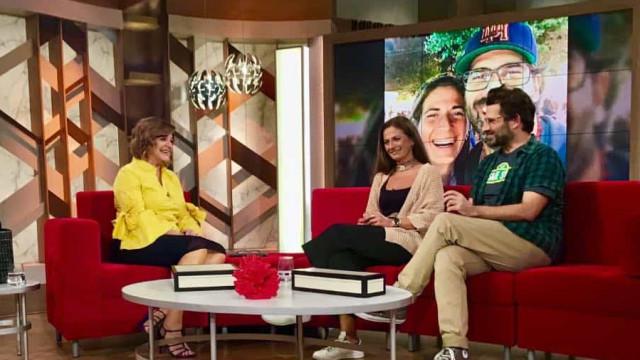 Irmã de Lourenço Henriques faz Júlia Pinheiro lembrar drama da anorexia