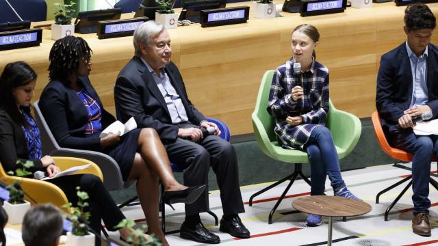 """Guterres afirma que existe """"um conflito sério entre pessoas e natureza"""""""