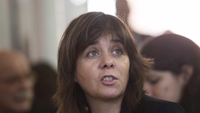 """Catarina Martins diz que disputa é """"entre o PS e a Esquerda"""""""