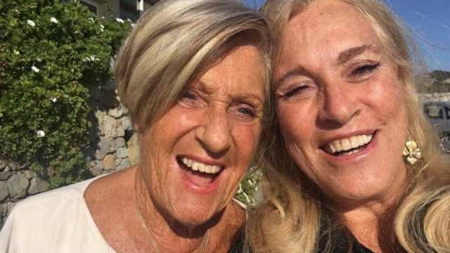 Teresa Guilherme celebra aniversário da mãe
