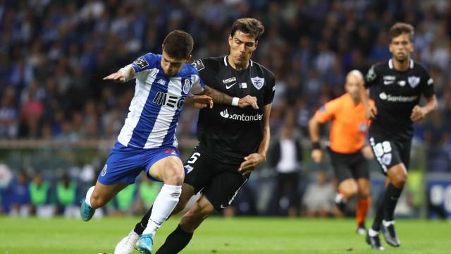 [2-0] Já se joga a segunda parte do FC Porto-Santa Clara