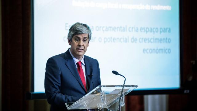 """""""Temos a garantia que os objetivos orçamentais vão ser cumpridos"""""""