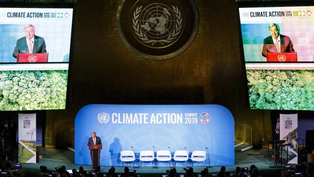 Clima: Guterres diz que ainda há tempo, mas está a esgotar-se
