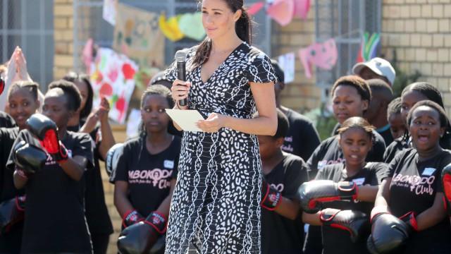 """Meghan Markle: """"Estou aqui como mulher negra e vossa irmã"""""""
