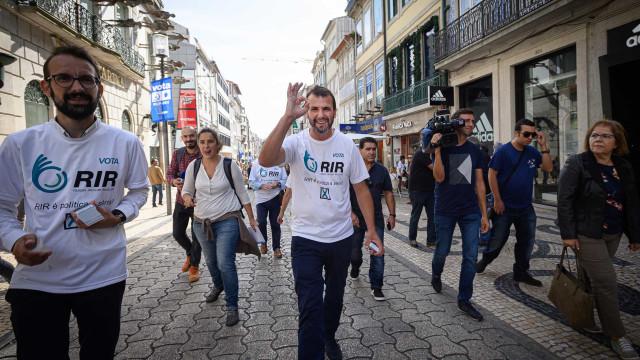 """Eleições: R.I.R. espera conquistar """"um cantinho no Parlamento"""""""