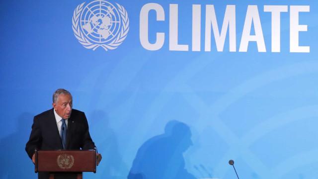 """Marcelo na ONU: """"Não existe um Portugal B como não existe um planeta B"""""""
