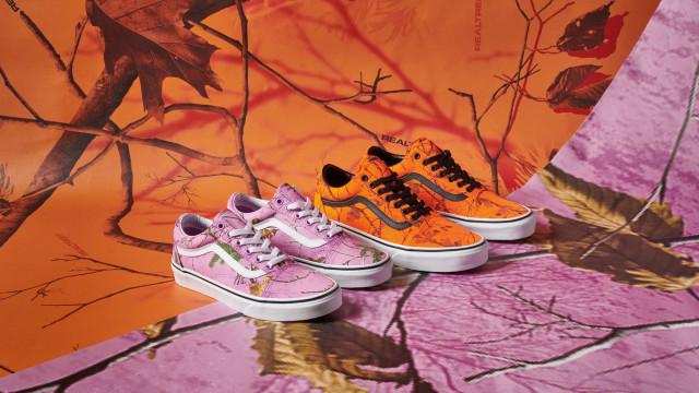 Vans lança coleção cápsula inspirada nas cores do outono