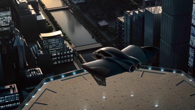 Boeing e Porsche colaboram no desenvolvimento de carro elétrico voador