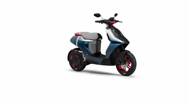 Yamaha prepara-se para apresentar scooters elétricas