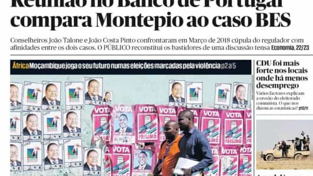 Hoje é notícia: Montepio é o novo BES? Condenado ganha avença do Estado