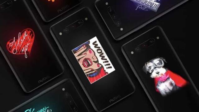 Topo de gama da Nubia tem dois ecrãs e custa menos de 600 euros