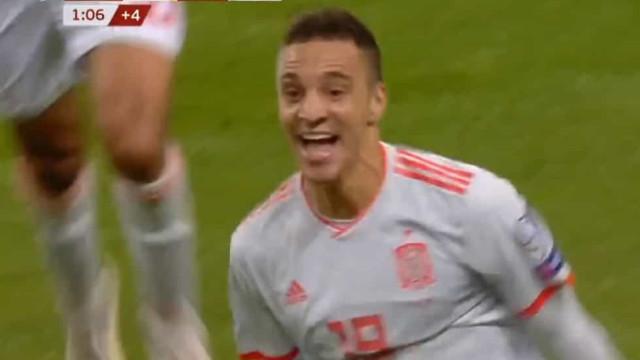 O golo do ex-benfiquista Rodrigo que colocou Espanha no Euro'2020