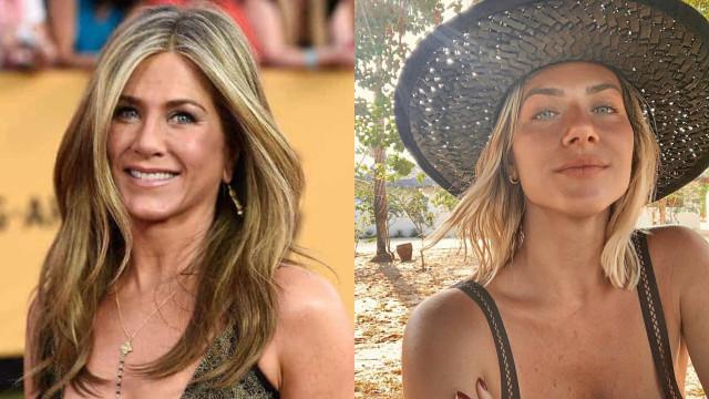 Separadas à nascença? Giovanna Ewbank compara-se a Jennifer Aniston