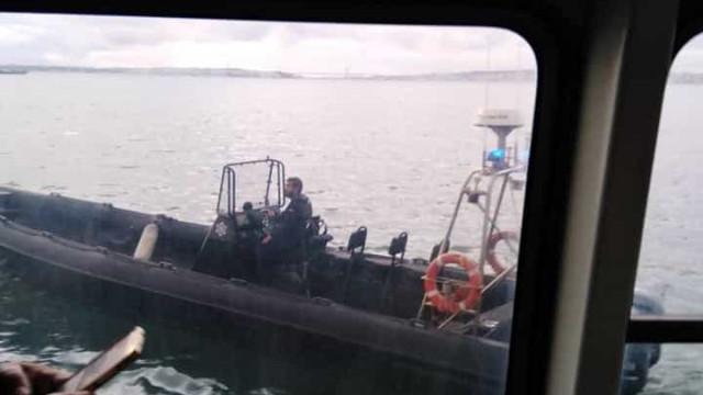 Barco parado no Tejo devido a situação de assédio sexual
