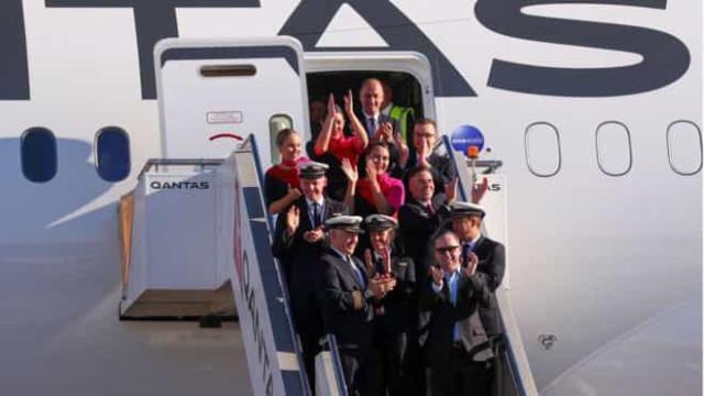 Este foi o voo comercial mais longo e sem escalas alguma vez feito
