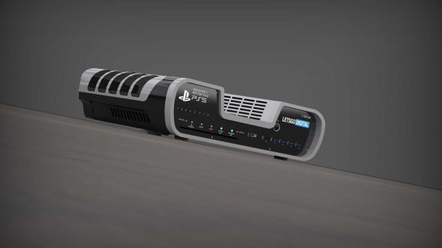 PlayStation 5. Consola de desenvolvimento captada em fotografia?