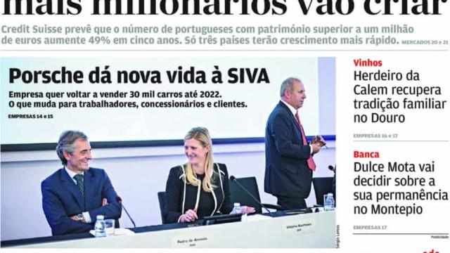 Hoje é notícia: Governo gasta mais 7 milhões; Portugal cria milionários