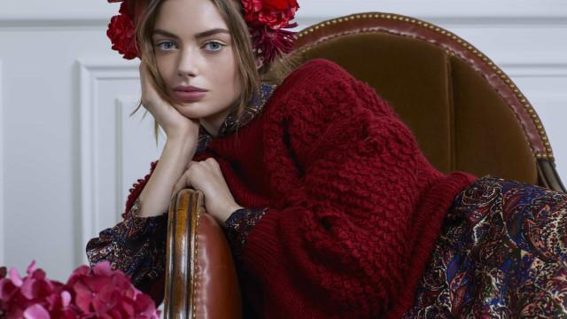 O inverno é gélido e encarnado com a nova coleção da Molly Bracken