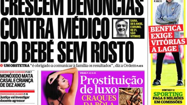 Hoje é notícia: Mais denúncias contra obstetra; Vem aí crise financeira