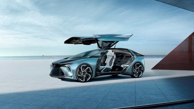 Lexus oferece um vislumbre do futuro com o vistoso novo 'concept'
