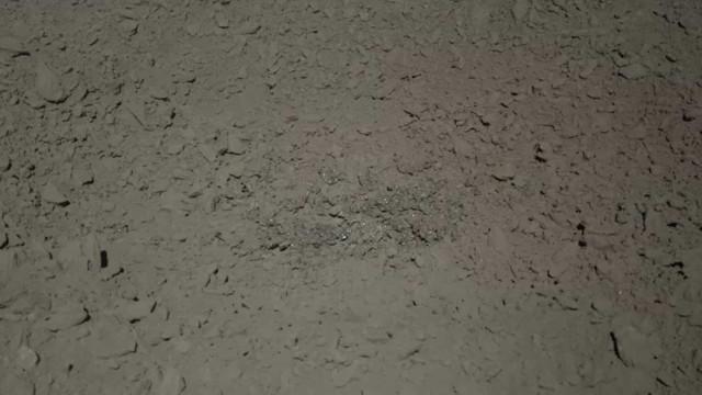 China partilha fotografia de substância misteriosa encontrada na Lua
