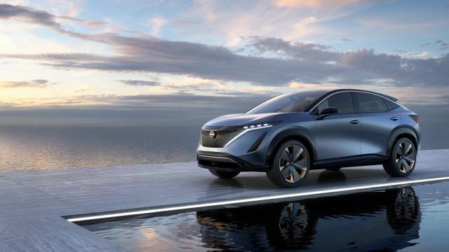 Nissan apresentou o Ariya, o 'concept' de um novo carro elétrico