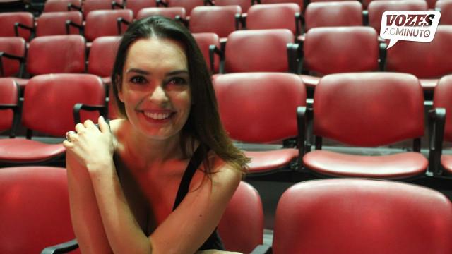 """""""A minha vida é ser atriz e vou sê-lo até morrer"""""""