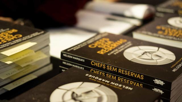 """As confissões de dez chefs num livro que promete """"ser um best-seller"""""""