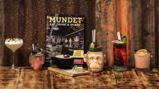 Novos cocktails da Mundet Factory dão a volta ao mundo