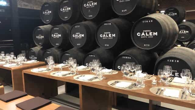 Jantares de Natal são nas caves Cálem, que não guardam apenas bons vinhos