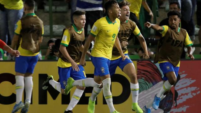 Emoção até ao último segundo: Brasil é o novo campeão mundial de sub-17