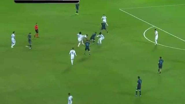 A jogada genial de Messi que deixou quatro adversários para trás