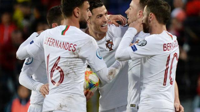 Euro'2020: Eis a sorte ou azar que Portugal tem à espera