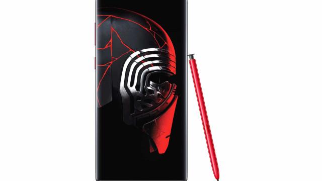 Samsung celebra chegada de 'Star Wars' com edição especial do Note 10