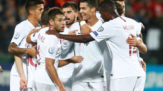 Euro'2020: Portugal no Pote 3. Eis os possíveis adversários
